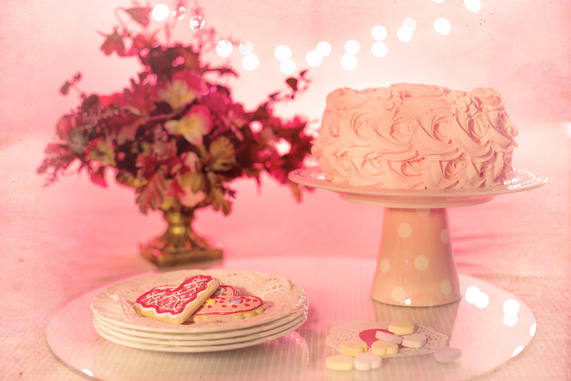 baked beautiful birthday birthday cake