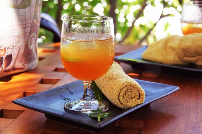 blur breakfast close up cocktail
